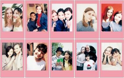 Fujifilm Instax Mini Pink Lemonade  Film Pack (10 Shots) 6,2x4,6 cm