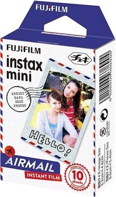 Fujifilm Instax Mini Airmail Film Pack (10 Shots) 6,2x4,6 cm