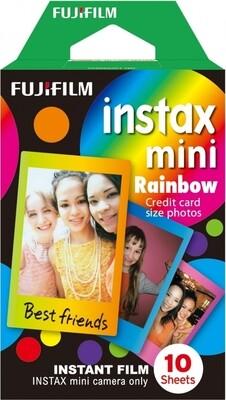 Fujifilm Instax Mini Rainbow  Film Pack (10 Shots) 6,2x4,6 cm