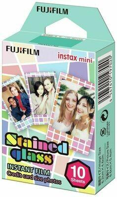 Fujifilm Instax Mini Stained Glass  Film Pack (10 Shots) 6,2x4,6 cm