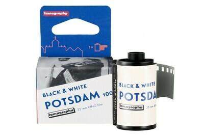 Potsdam Kino 100 Professional - 135/36 black and white film expired 03/2022