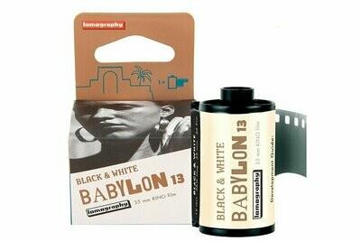 Lomo Babylon Kino B&W ISO 13 135-36 expired 05/2023