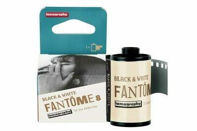 Lomo Fantôme Kino Black&White 8 ISO 135-36