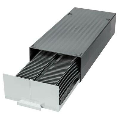 Gepe Storage Chest with 2 Universal Trays for 100x 5 x 5cm Slide Mounts