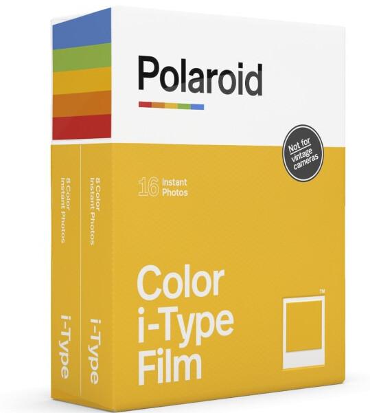 Polaroid Color i-TypeFilm | Sofortbildfilm mit 16 Aufnahmen (2x8) - Im Zulauf
