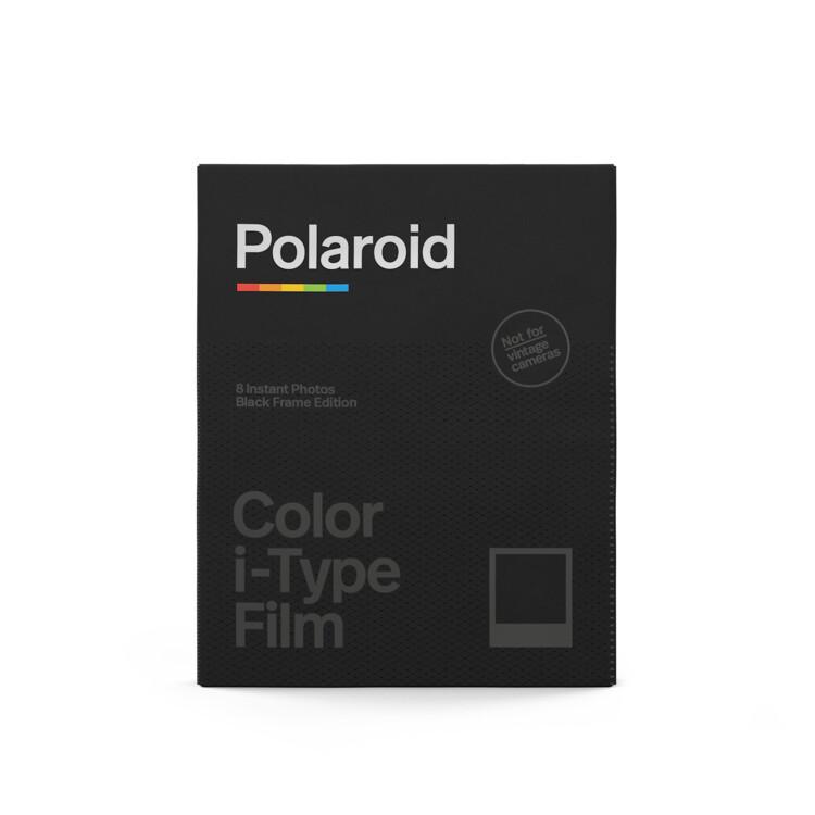 """Polaroid Originals Color i-Type Instant Film (8 Exposures) - """"Black Frame Edition"""""""