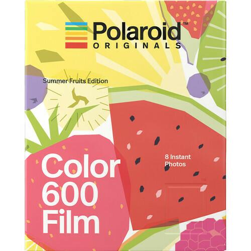 Polaroid Originals Color instant film for Polaroid 600-type cameras 640 ASA, 8 sheets - Summer Fruits