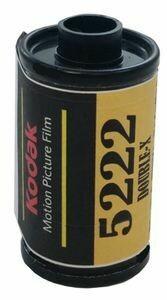 Kodak 5222 Double - X Black & White Film 35mm ISO 250 (35mm Roll Film, 32 Exposures) Expired 04/2022 DX-Coded - - Alternative BWxx Double-X negative from Cinestill