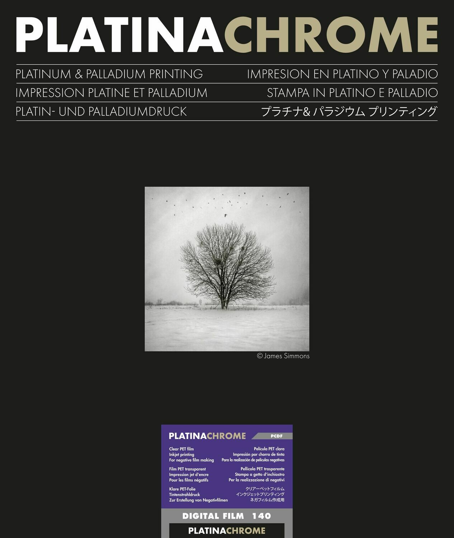Ilford PlatinaChrome Digitalfilm, DIN A3+ (32,9x48,3 cm, 25 sheets