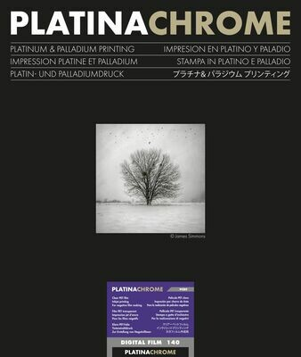 Ilford PlatinaChrome Digitalfilm, DIN A4 (21x29,7 cm), 25 sheets