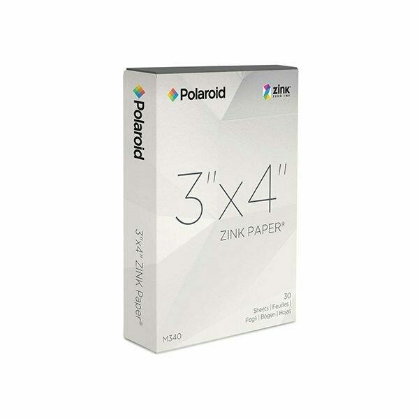 Polaroid ZINK Media 3x4 inch Photo Paper for Z340 Camera & GL10 Printer-Pack 10 sheets