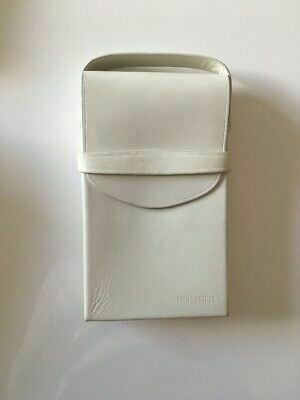 Polaroid Impossible  SX-70 Camera Case By EYETAG  White Leather