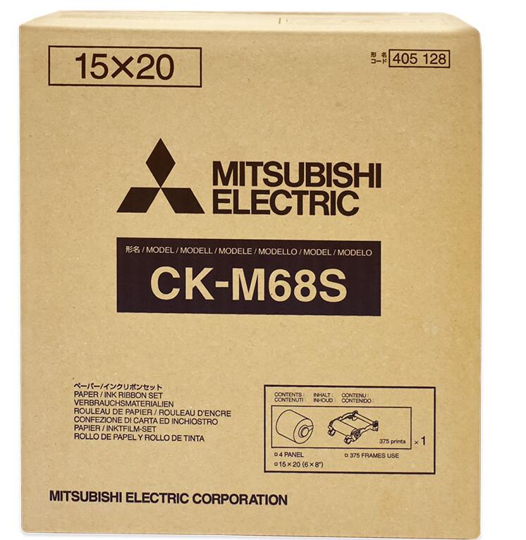 MITSUBISHI paper CK M68S 5x15/10x15/ 15x20cm (750/375 sheets)