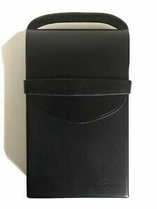 Polaroid Impossible  SX-70 Camera Case By EYETAG  black Leather
