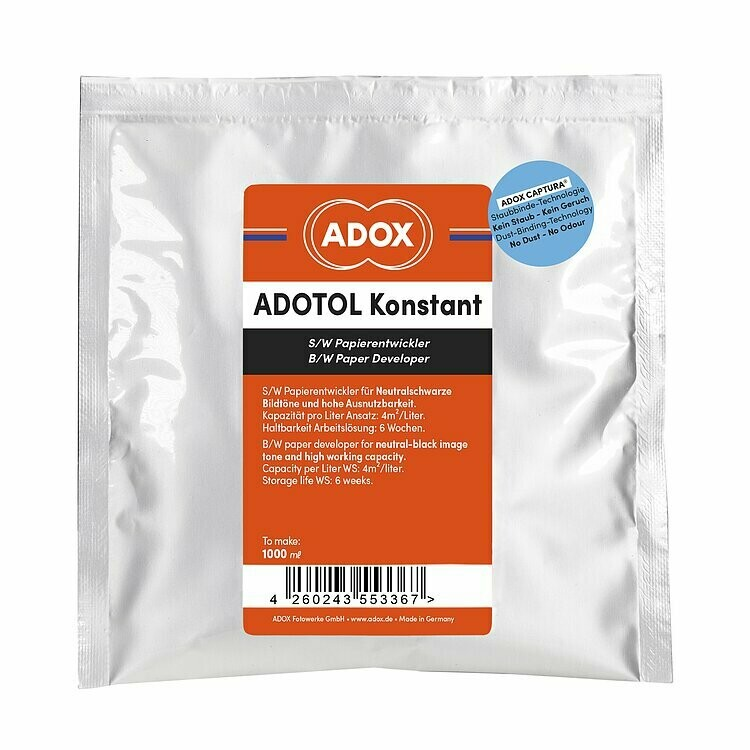 Adotol Konstant II High Capacity Paper Developer to make 1000 ml Paper Developer (identical to ORWO (Calbe) N113)