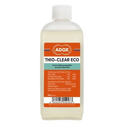 Adox Thio-Clear Eco Waxhaid for Film and Paper - 500ml