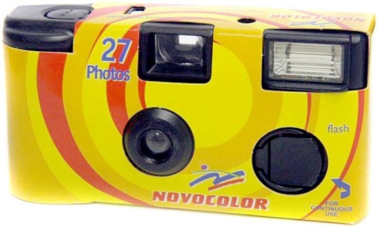 Novocolor Flash Single Use Camera 27 photos