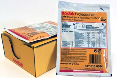 Kodak D-76 Developer (Powder) for Black & White Film - Makes 1 Liter - 5160304