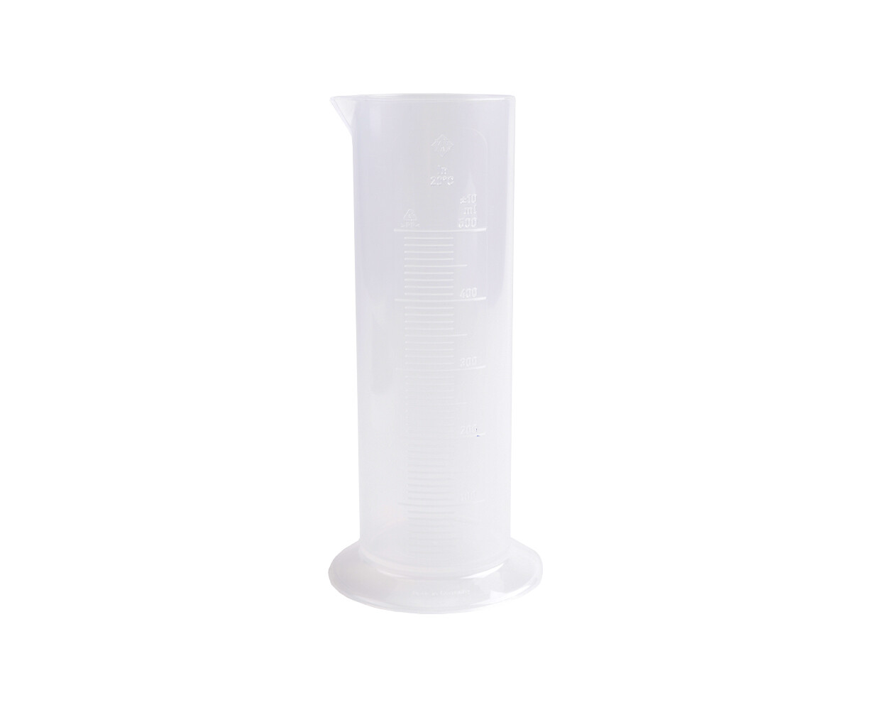 Measuring cylinder 50ml - Plastic Graduate