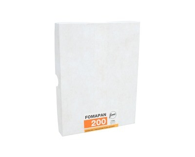 Fomapan 200 Planfilm 10,2x12,7 CM (4x5 INCH) 50 sheets - no stock available from approx. 10.11.2020