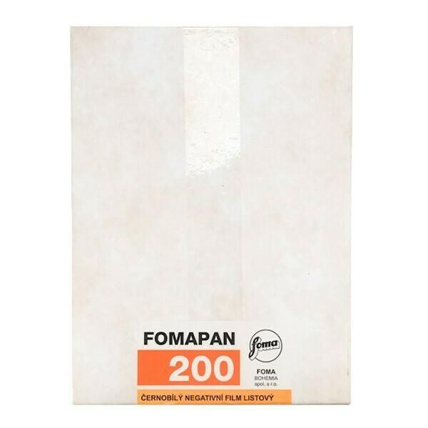 Fomapan 200  Planfilm 20,3x25,4 CM (8x10 INCH) / 50 Blatt