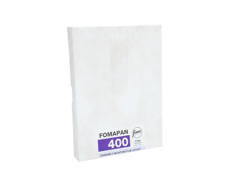 Fomapan 400 Action Planfilm 10,2x12,7 CM (4x5 INCH) / 50 sheets
