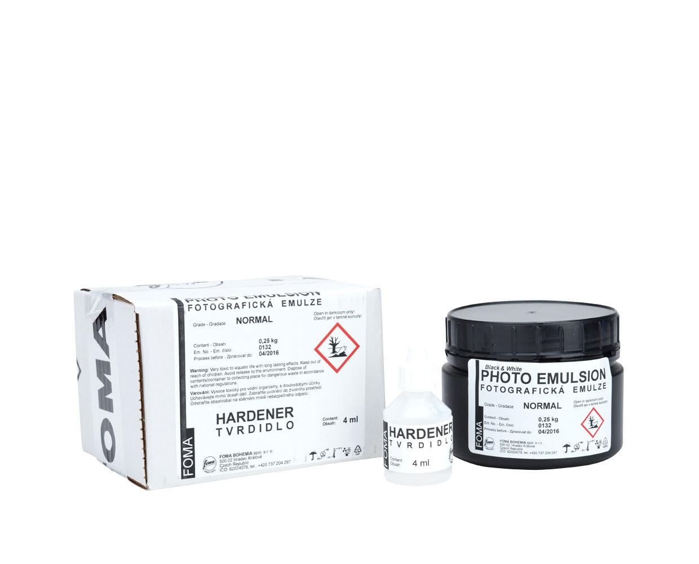 FOMA liquid photo emulsion Fomaspeed N 250 ml + hardener