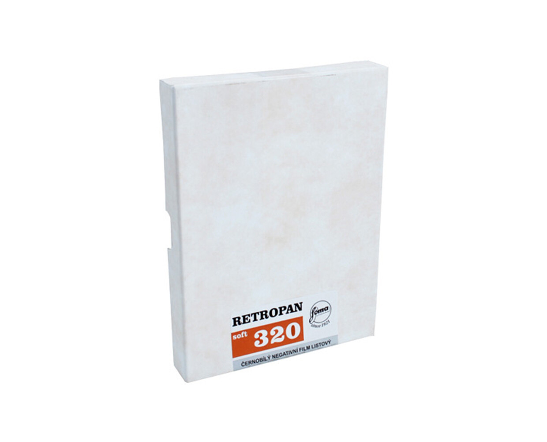 FOMA RETROPAN 320 soft 12,7x17,8 CM (5x7 INCH) / 50 sheets
