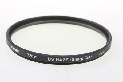 Canon 72mm Ultraviolet (UV) Glass Filter
