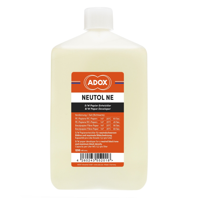 Adox Neutol Liquid NE 1250 ml concentrate paper developer black white