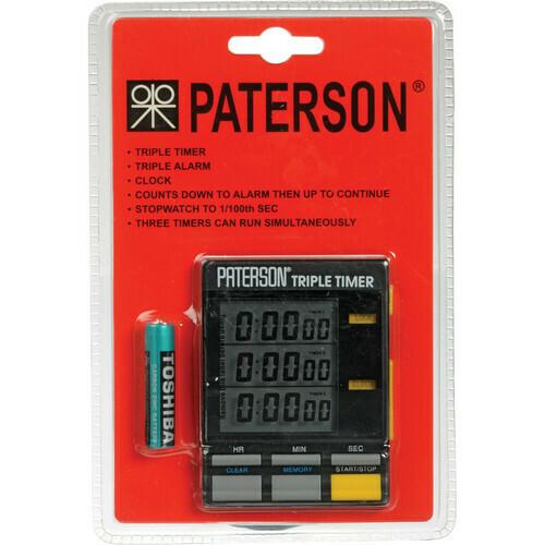 Paterson Tripple Timer
