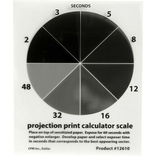 """Delta 1 Projection Print Calculator Scale 4x5"""""""