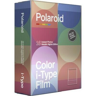 POLAROID ORIGINALS Color Film for I Type - MetallicNights Duopack 2x8 pictures