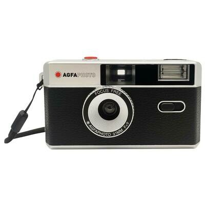 Agfaphoto Reusable Photo Camera 35 mm black
