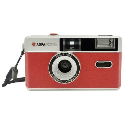 Agfaphoto Reusable Photo Camera 35 mm red