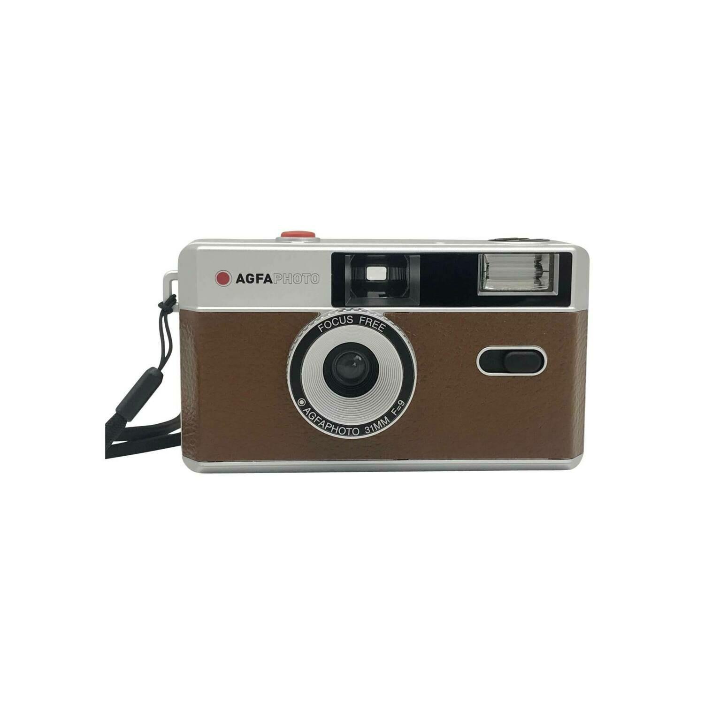 Agfaphoto Reusable Photo Camera 35 mm brown