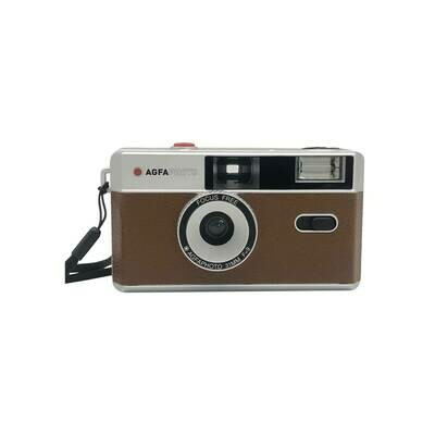 Agfaphoto Reusable Photo Camera 35 mm brown