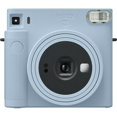 FUJIFILM INSTAX SQUARE SQ1 Instant Film Camera (Glacier Blue)