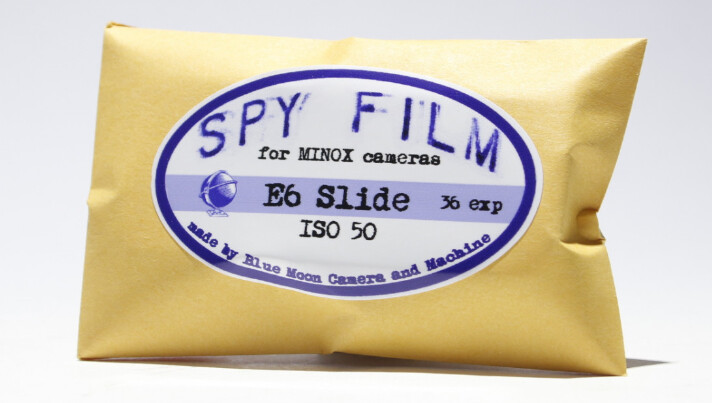 MINOX Spy Film Ektar 100 36 Color Film 8x11