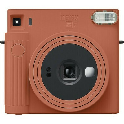 FUJIFILM INSTAX SQUARE SQ1 Instant Film Camera (Terracotta Orange)