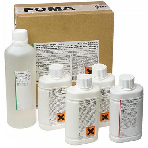 FOMA Umkehrsatz für 8xKB / 2xD8 / 2x DS8 / 1x16mm (Umkehrentwicklung)