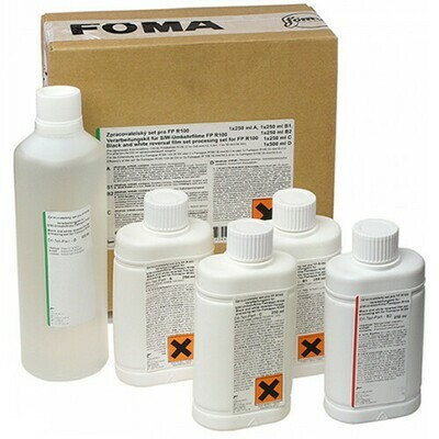 Foma Reversal Process Developing Kit  for 8xKB / 2xD8 / 2x DS8 / 1x16mm (reverse development)