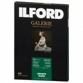 Ilford Gallery Smooth Gloss Paper 310 g/m², 42x59.4 cm / DIN A2, 25 sheets (2001742)