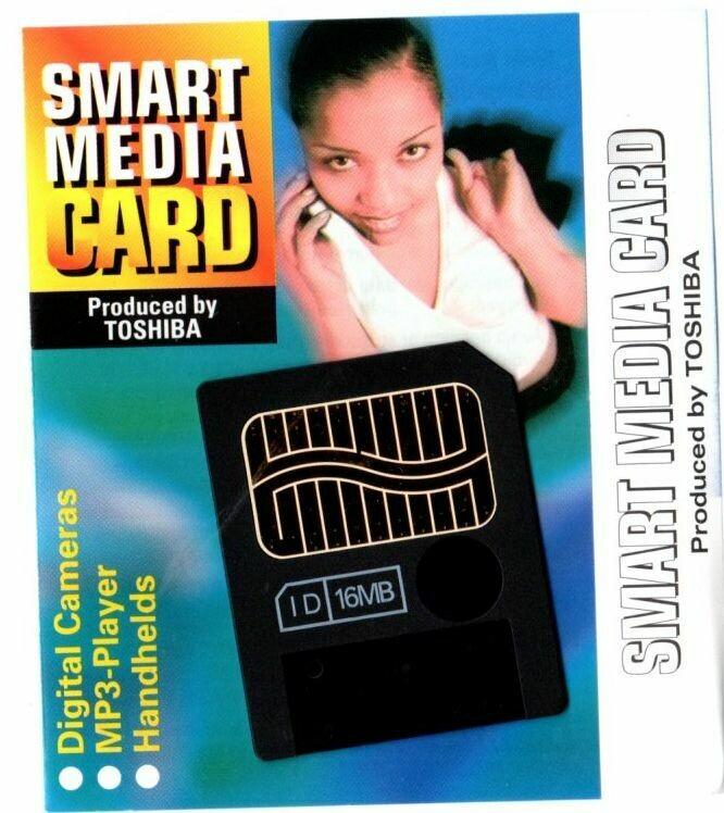16MB Toshiba SmartMedia Card