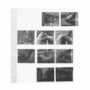 Peva Pergamin Negativhüllen für 120 Rollfilm (6x6 / 6x7) 100 Blatt