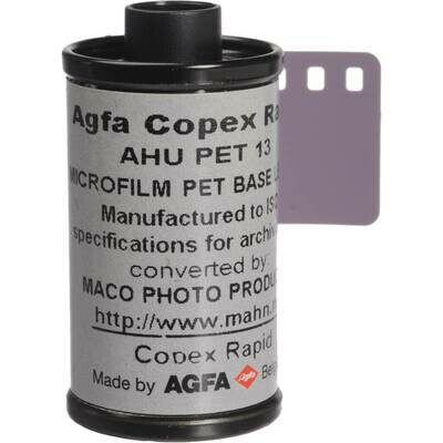 Agfa Copex Rapid Black and White NegativeFilm (135-36 Film)