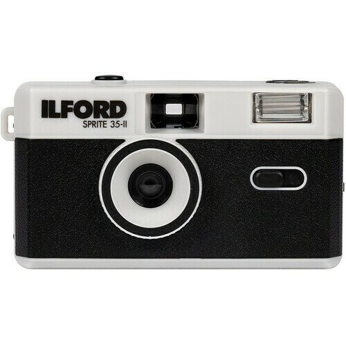 Ilford Sprite 35-II Film Camera (Black & Silver) - New Release New Item - Coming Soon - Pre-order now! Available from March 21