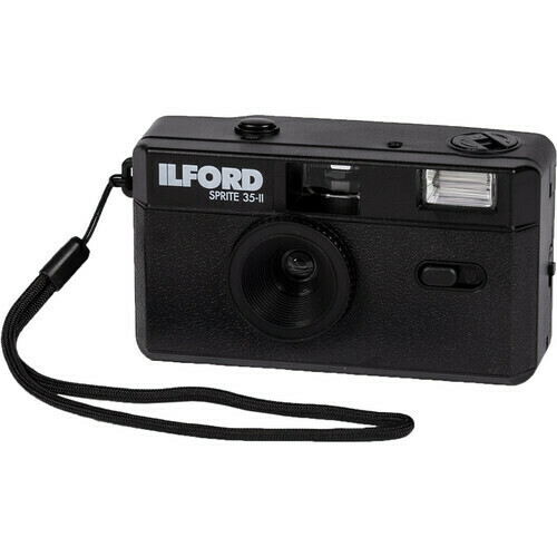Ilford Sprite 35-II Film Camera black - New Release  New Item - Coming Soon - Pre-order now! Available from March 21