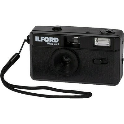 Ilford Sprite 35-II Film Camera black