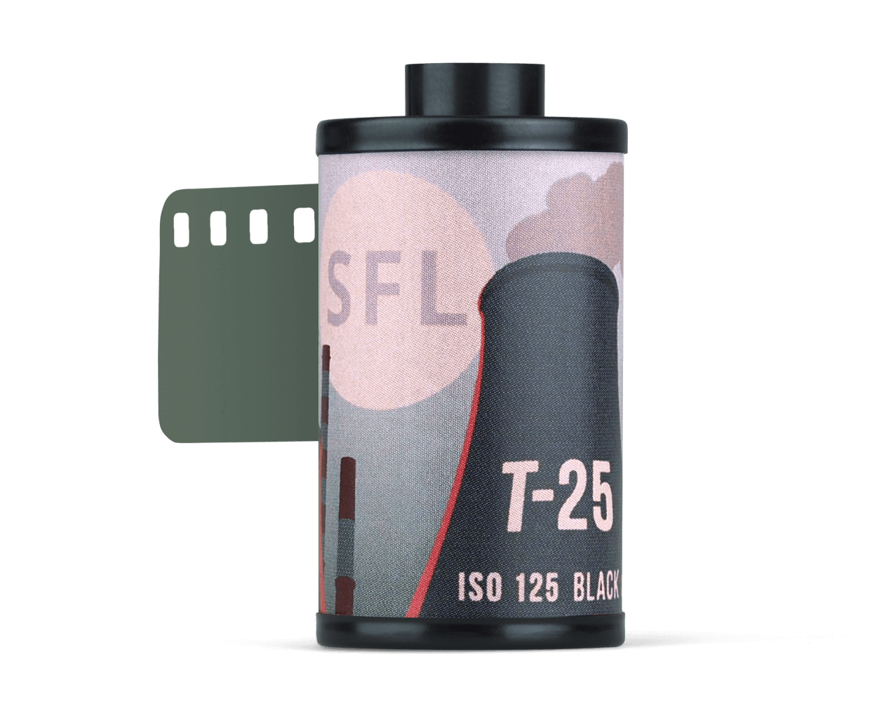 Sreda Film Lab - Tasma T-25 format 135-36 black and white film expired 12/2022